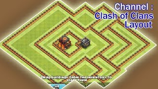 Clash of Clans Town Hall 10 TH10 War Base anti Everyting 2016