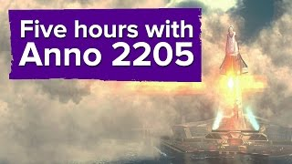 Some thoughts after five hours with Anno 2205 (Gameplay & impressions)