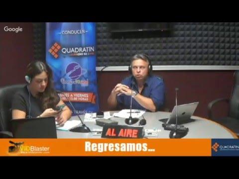 Quadratin radio 19 abril 2016
