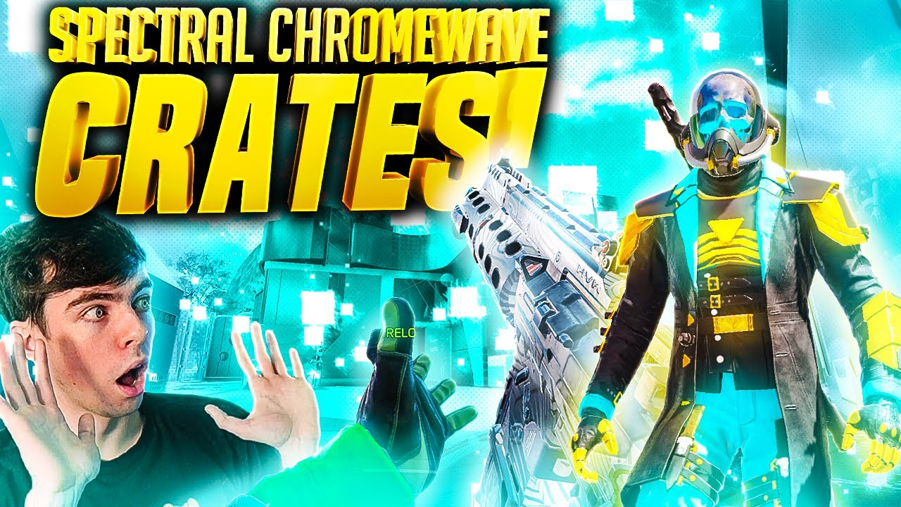 *NEW* Spectre - Spectral and HVK-30 Chromewave in COD Mobile! (Why did they do this...)