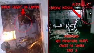 Mysterious and Paranormal Events//Мистические  и паранормальные явления снятые на камеру