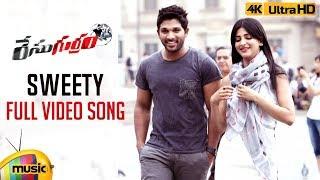 Sweety Full Video Song 4K | Race Gurram Songs | Allu Arjun | Shruti Haasan | S Thaman | Mango Music