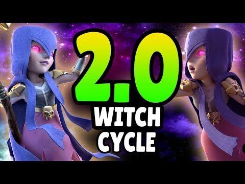 FASTEST WITCH CYCLE EVER! ONLY 2.0 ELIXIR! | Clash Royale