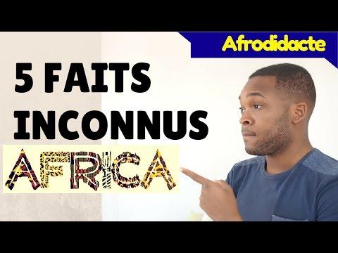 5 FAITS INCONNUS SUR L'AFRIQUE #1 🌍 | Afrodidacte 🔺