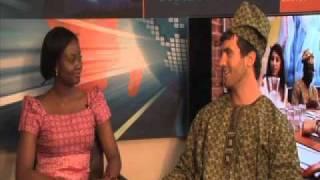 Kayode Oyinbo In The Studio With Sahara TV