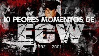 Top 10: Los peores momentos en la historia de ECW | Loquendo | Mr. WWE