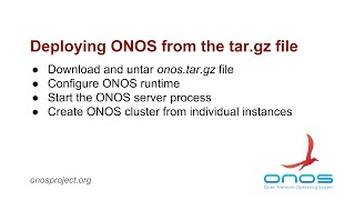 Deploying ONOS from onos.tar.gz file Mp3