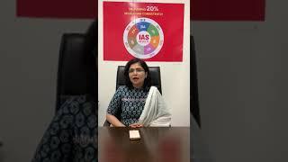 Felicitation of AIR 65 Dr. Preeti Gehlot at ALS IAS Lucknow