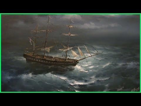 Видео урок по живописи Фрегат Паллада (полная версия) +79857776200