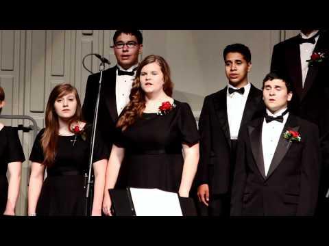 "Tomball High School Chorale sings ""Blackbird"""