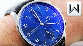IWC Portugieser Chronograph (IW3714-91) Luxury Watch Review