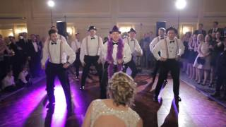 Best Surprise Choreographed Groomsmen Dance Ever #FaireyExcited