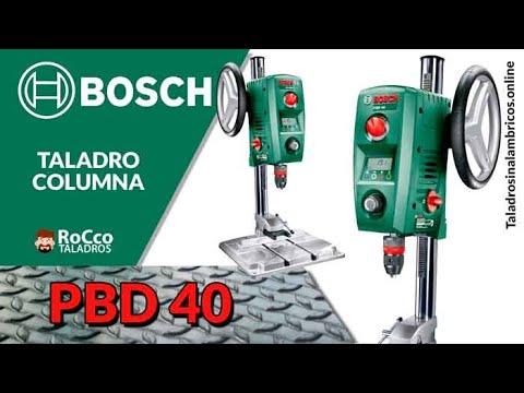 Bosch PBD 40 ✔️ Mejor Taladro De Columna