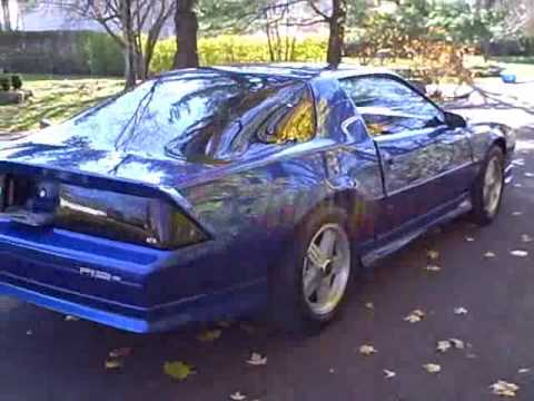 1991 Camaro Rs >> 1991 Camaro rs - YouTube