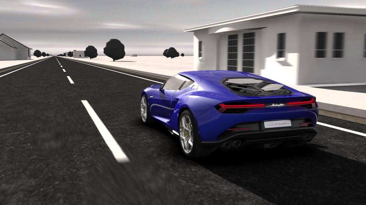 Lamborghini Asterion Hybrid Concept Youtube