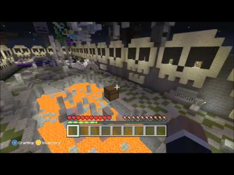 Minecraft Xbox- BoneYard Hunger Games- Random Chests
