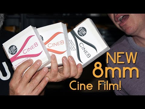 New Regular 8mm Cine Film From The FPP - Cine8!