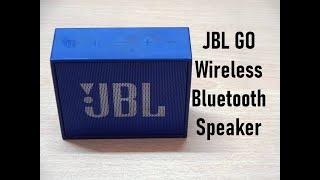 JBL GO Wireless Bluetooth Speaker Review