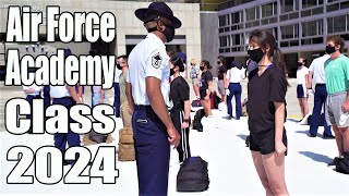 2020 United States Air Force Academy | Class of 2024 In-processing Day