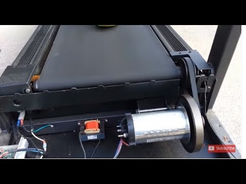 Using a Treadmill as a DC Generator