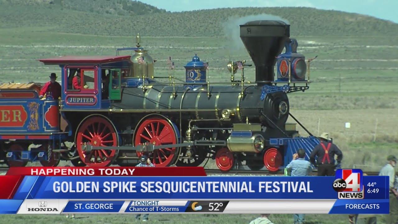 Golden Spike Sesquicentennial Festival (6:30 a.m.)