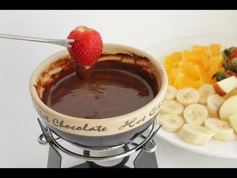 Savatav кухня. Готовом и едим шоколадное фондю!