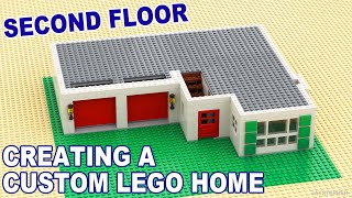 Tutorial - Creating A Custom Lego Home - Second Floor [CC]