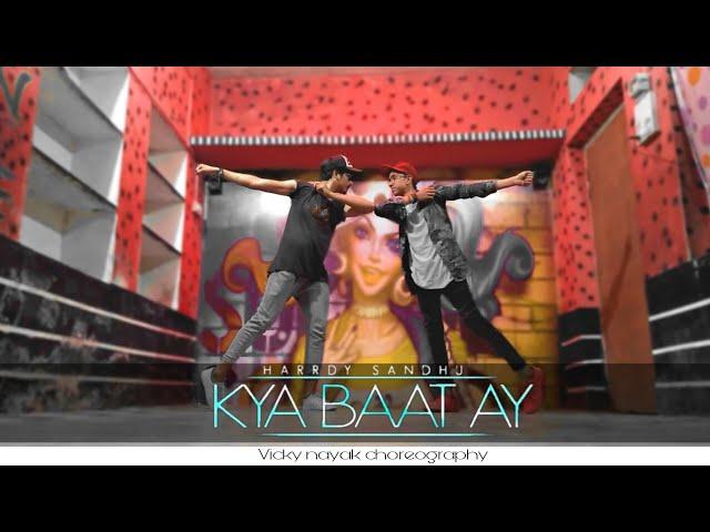 Harrdy Sandhu -kya Baat Ay/jaani /B praak Arvindr khaira/official dance Vicky nayak choreography #1