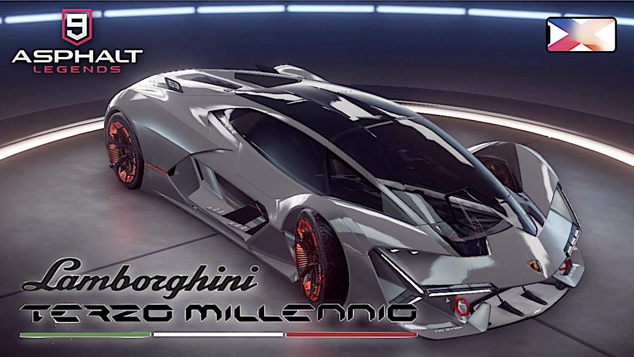Asphalt 9 Legends Lamborghini Terzo Millenio Unlocked Gameplay