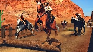 Texas Wild Horse Race 3D - Android Gameplay HD
