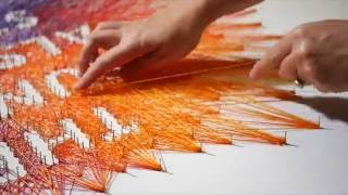 Video The Sun Is Also A Star Book Cover String Art | Behind The Scenes download MP3, 3GP, MP4, WEBM, AVI, FLV Maret 2018