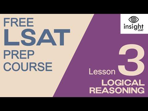 Lesson 3 | Logical Reasoning | Insight LSAT Mini LSAT Prep Course (3/8)