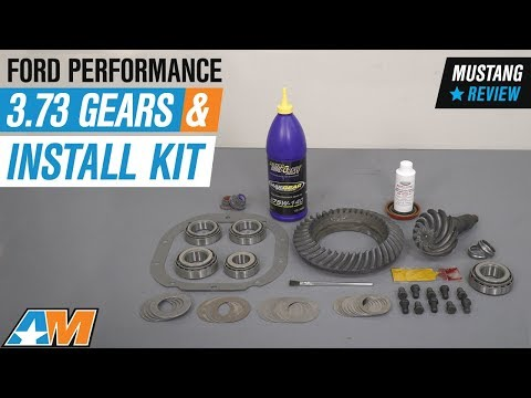 2010-2014 Mustang V6 & V8 Ford Performance 3.73 Gears and Install Kit Review
