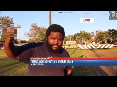 18 wheeler crash on Local News!
