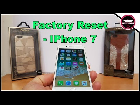 How To Factory Reset (IPhone 7)