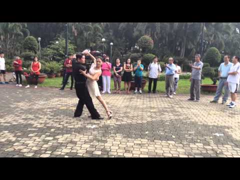 Slow nâng cao bài 1 - CLB Khiêu vũ Nhịp sống vui