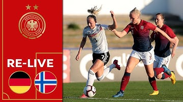 Deutschland - Norwegen 4:0 | Re-Live | Frauen | Algarve Cup 2020