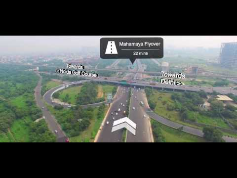 Godrej Golf Links - Greater Noida Drone video