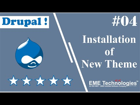 How to Install New Theme in Drupal thumbnail