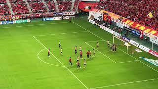 明治安田生命J1リーグ 第29節:名古屋グランパス vs FC東京 2018年1...
