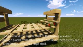 How To Build A Barbacue With Pallets