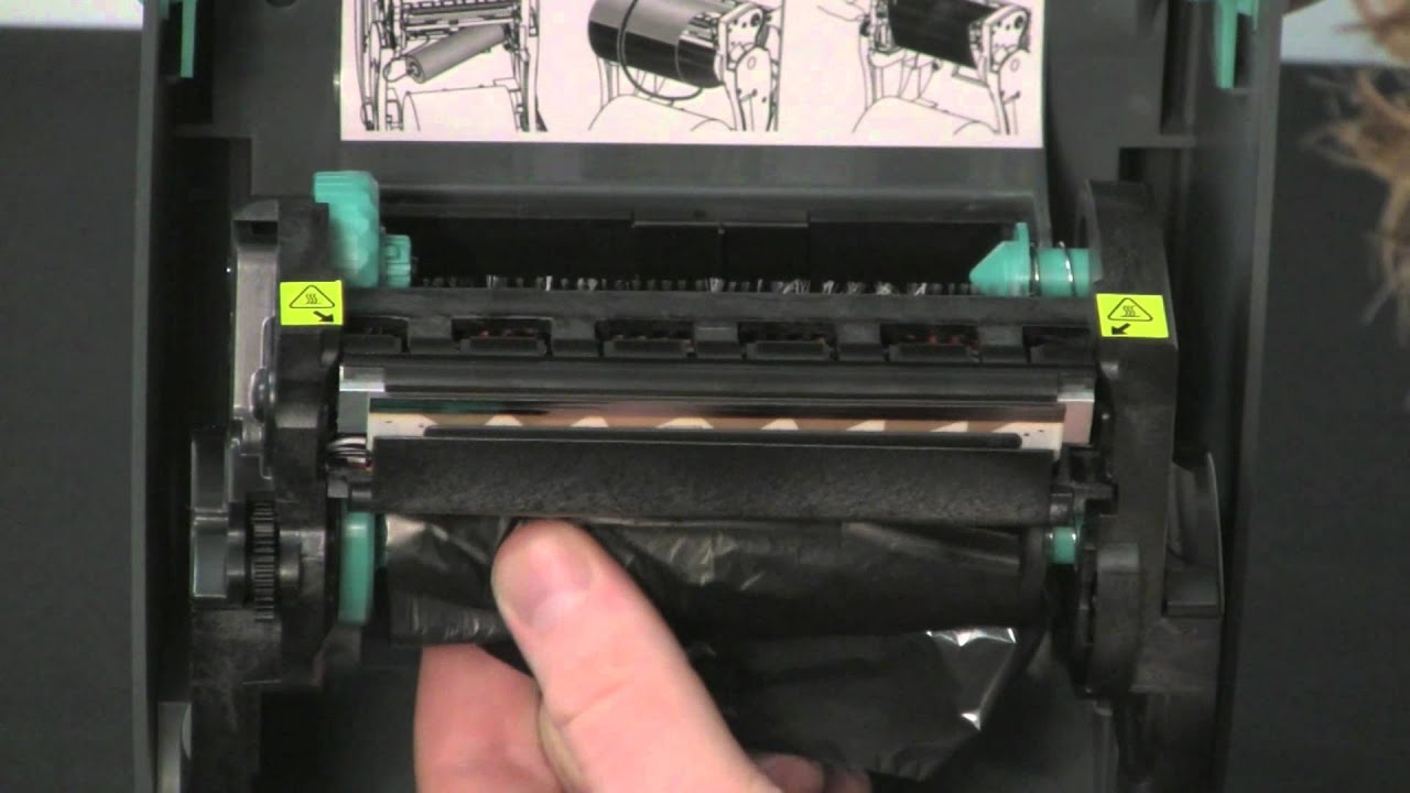 Zebra TLP Desktop Printer - Ribbon Loading by Support98