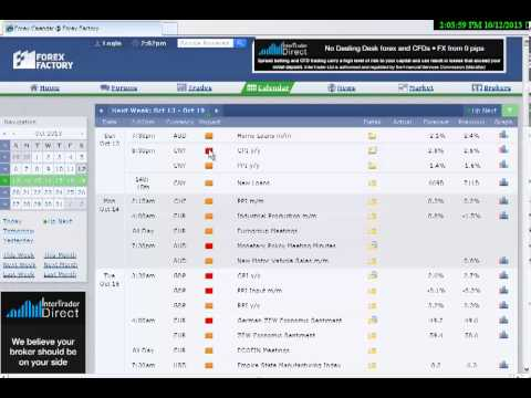 How to set up your Forex Factory Calendar filter for news events by Cynthia of Day Trade Forex.