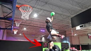 INSANE DUNK CHALLENGE!!