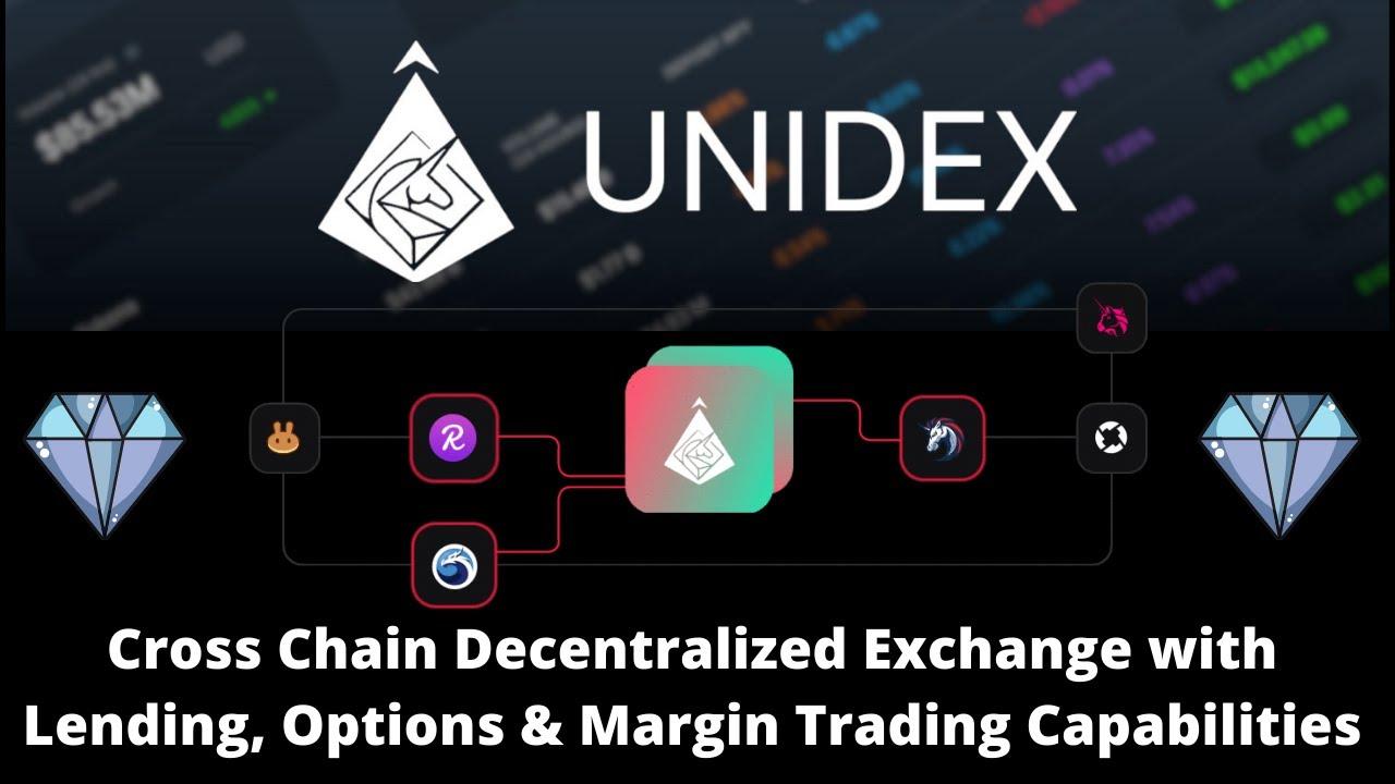 Unidex Review Cross Chain Aggregator + Options & Margin Capabilities {UNIDX} Crypto