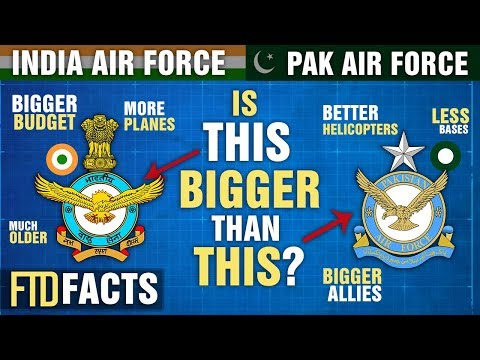 The Differences Between INDIA And PAKISTAN Air Force