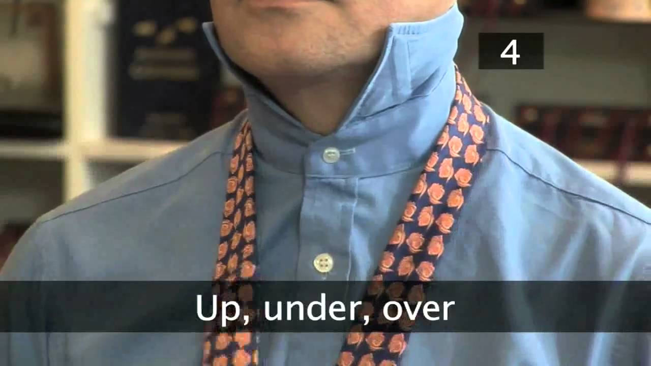 How to tie a tie full windsor knot youtube ccuart Image collections