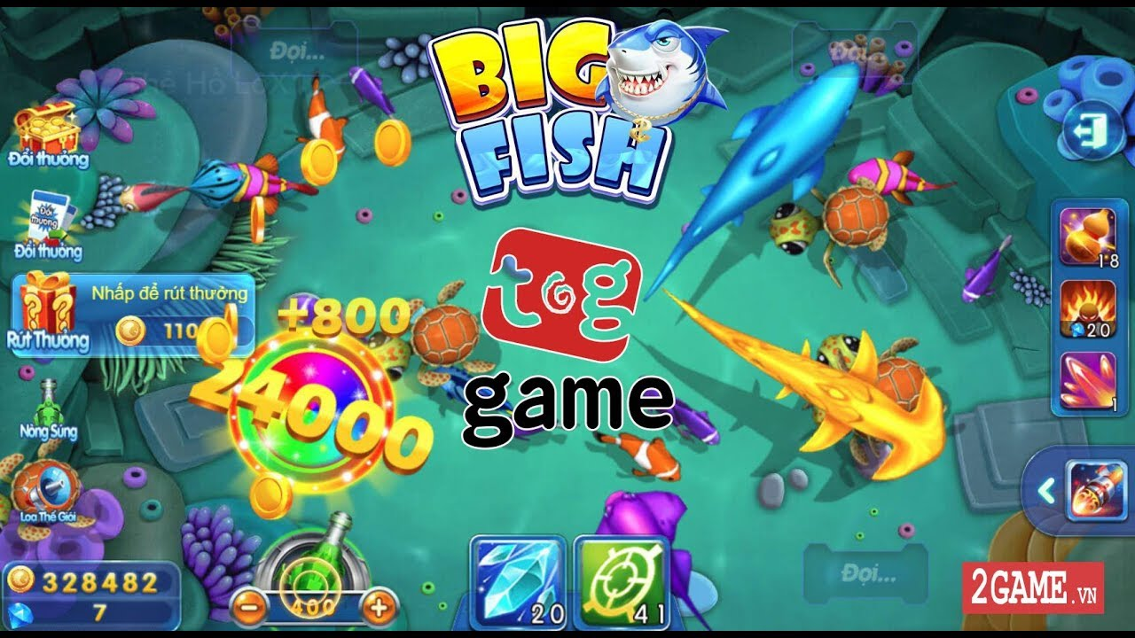 Chơi thử Big Fish H5 – Game bắn cá H5 của VNG bản Trung Quốc