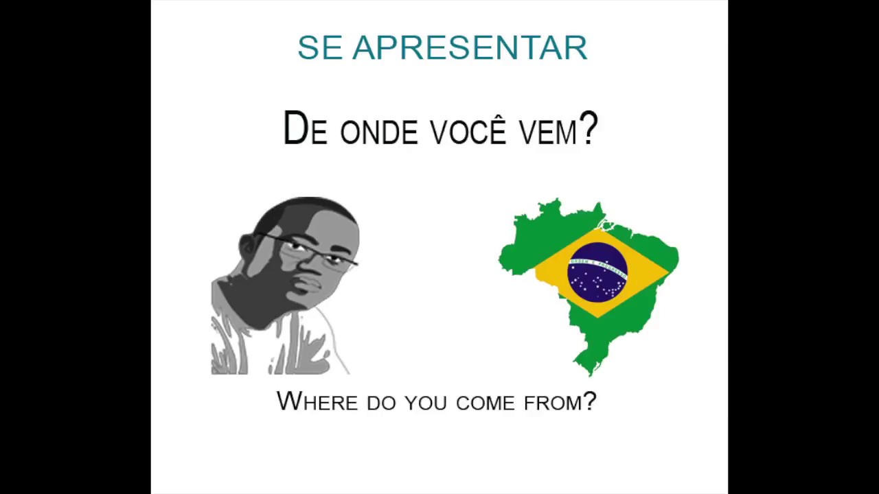 01 greetings ii se apresentar portuguese brazil lessons youtube 01 greetings portuguese brazil lessons m4hsunfo