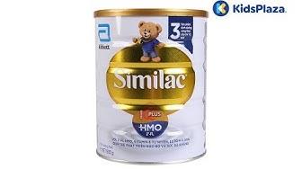 Đặc điểm nổi bật và cách pha sữa Similac số 3 900g cho bé 1-2 tuổi tại Kids Plaza